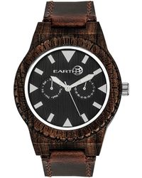 Earth Wood Unisex Hyperion Watch - Multicolour
