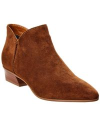 Aquatalia - Farida Waterproof Suede Bootie - Lyst