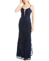 Dress the Population Marie Gown - Blue