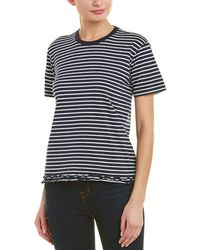 Derek Lam - 10 Crosby Ruffle T-shirt - Lyst