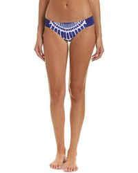 Trina Turk - Algiers Shirred Side Hipster Bikini Bottom - Lyst