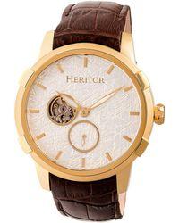 Heritor Men's Callisto Watch - Metallic
