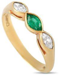 Heritage Tiffany & Co. Tiffany & Co. 18k 0.50 Ct. Tw. Diamond Ring - Metallic