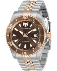 TechnoMarine Sea Automatic Watch - Metallic
