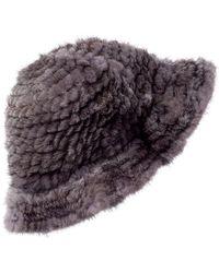 La Fiorentina Bucket Hat - Grey