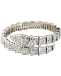 BVLGARI Bulgari 18k 9.15 Ct. Tw. Diamond Bracelet - Metallic