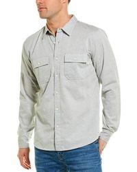 FRAME Denim Bedford Double Pocket Shirt - Blue