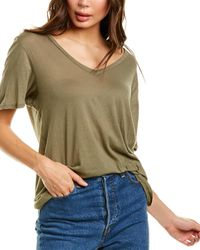 Project Social T The Softest V-neck T-shirt - Green
