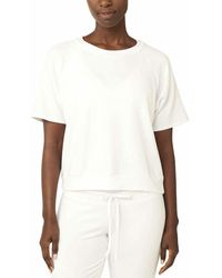 Beyond Yoga Solid Choice Pullover - White