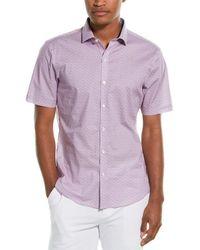 Zachary Prell Tabor Woven Shirt - Pink