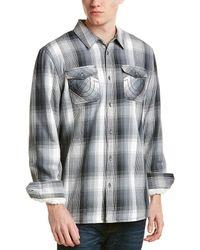 True Religion - Lined Utility Shirt - Lyst