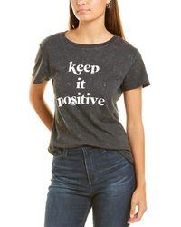 Sub_Urban Riot Sub_urban Riot Keep It Positive T-shirt - Black