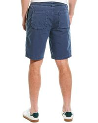 James Perse Patch Pocket Short - Blue