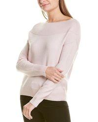 Premise Studio Boat Neck Sweater - Pink