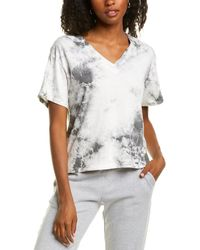 Electric and Rose Strata V-neck - Gray