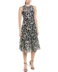 Nanette Lepore Midi Dress - Black