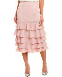 Gracia Pencil Skirt - Pink