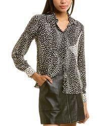 Maje Cilia Shirt - Black