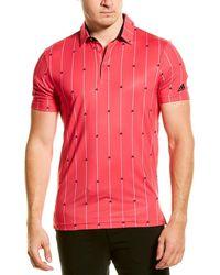 adidas Originals Ultimate 365 Polo Shirt - Pink