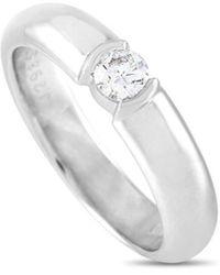 Heritage Tiffany & Co. Tiffany & Co. 0.19 Ct. Tw. Diamond Ring - Metallic