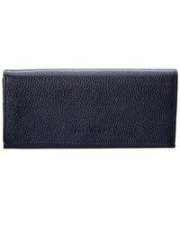 Longchamp - Le Foulonne Leather Continental Wallet - Lyst