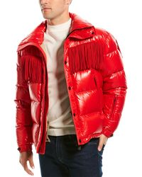 Moncler Puffer Down Jacket - Red