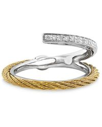 Alor Classique 18k 0.12 Ct. Tw. Diamond Ring - Metallic