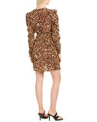 Joie Celyn Silk Mini Dress - Brown
