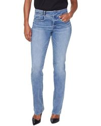 NYDJ Marilyn Straight Leg Jean - Blue