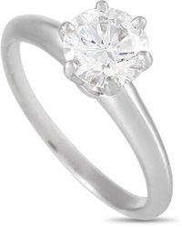 Heritage Tiffany & Co. Tiffany & Co. 1.11 Ct. Tw. Diamond Ring - Metallic