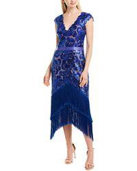 Tadashi Shoji Cocktail Dress - Blue