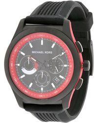 Michael Kors Men's Rubber Watch - Metallic