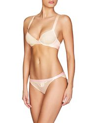 82ad99603 Lyst - Heidi Klum Intimates Ivy Nights Underwire Bra in Natural