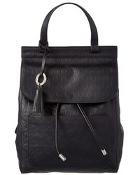 Badgley Mischka - Cable Leather Backpack - Lyst