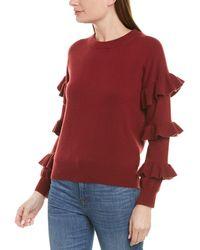 J.Crew Wool-blend Sweater - Red