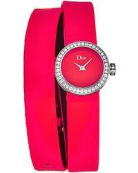 Dior Dior Women La D De Dior Watch - Pink