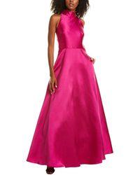 ML Monique Lhuillier Gown - Pink