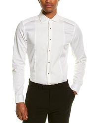 Reiss Marcella Slim Fit Shirt - White