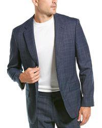 J.Crew Wool-blend Sportcoat - Blue