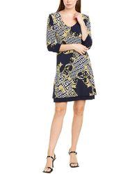 TMRW STUDIO Reversible Mini Dress - Blue
