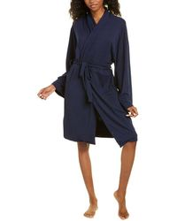 Catherine Malandrino Solid Robe - Blue
