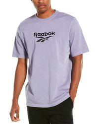 Reebok Premium Vector T-shirt - Purple