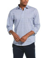 Zachary Prell Tolley Woven Shirt - Blue