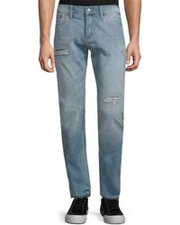 Jean Shop - Distressed Pant - Lyst