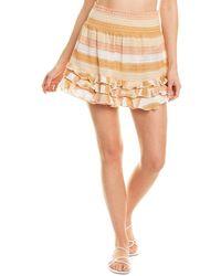 Ramy Brook Madina Mini Skirt - Brown