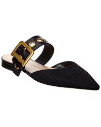 Dior D- Leather Mule - Black