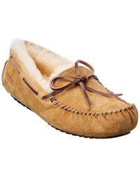 Smith's Suede Moccasin Slippers - Multicolour