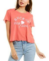 Wildfox Sucker For Love T-shirt - Multicolour