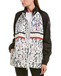 Moncler Raincoat - White