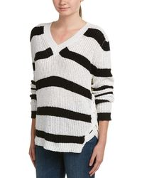 Jack Meets Kate Lace-up Sweater - White